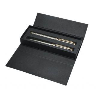 Delgado Classic Steel Set Silber, Gold-6100-silver-gold