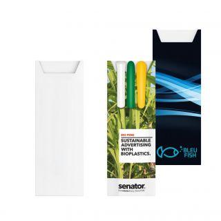 Pour 3 stylos Blanc-P1ET173-white
