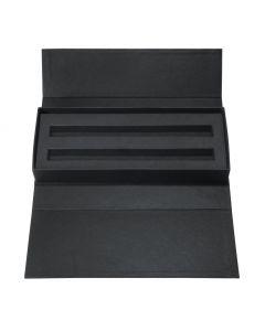 Karton-Etui für 1 Schreibgerät, schwarz Schwarz-ET156-black